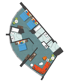 Group Accommodations At Cabana Bay Beach Resort Universal Orlando Resort