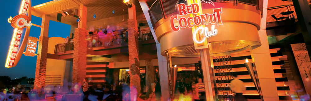 Group Event Options At Red Coconut Club Citywalk