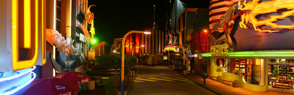 Action Packed Event Venues At Marvel Super Hero Island