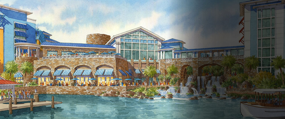 all-new loews sapphire falls resort