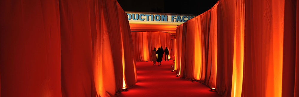production services red carpet