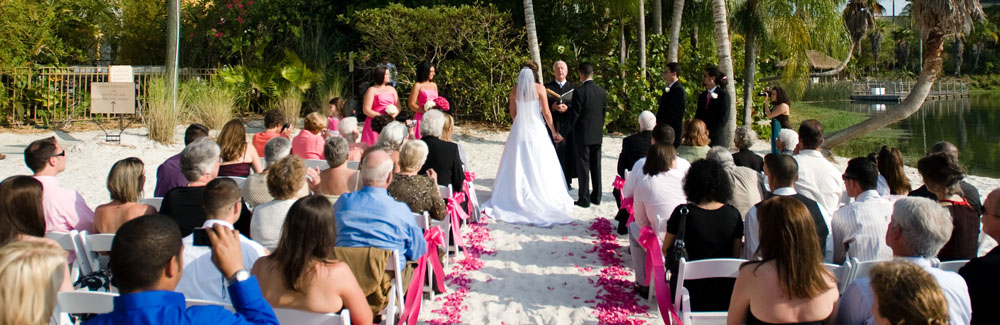 royal pacific resort wedding ceremony