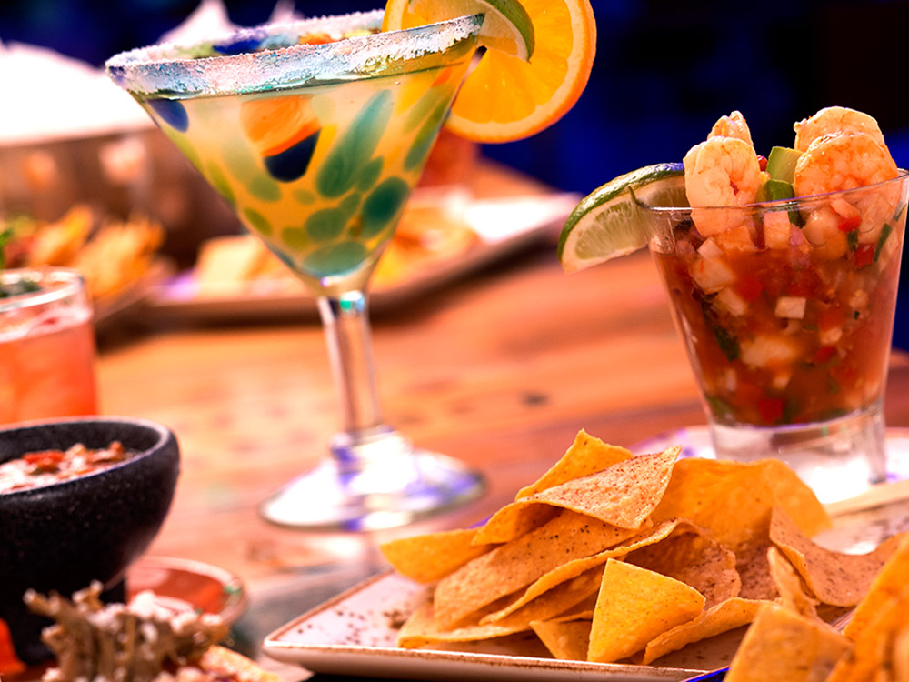 Pics Of Food And Drinks: Group Dining At Antojitos Authentic Mexican Food