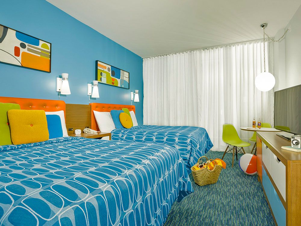 A Blast From The Past Accommodations At Universal S Cabana Bay Beach Resort