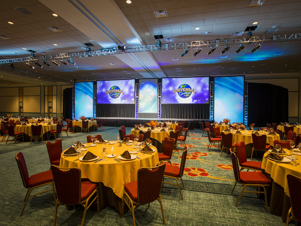 Garden By The Bay Ballroom affordable orlando group hotel | universal's cabana bay beach resort