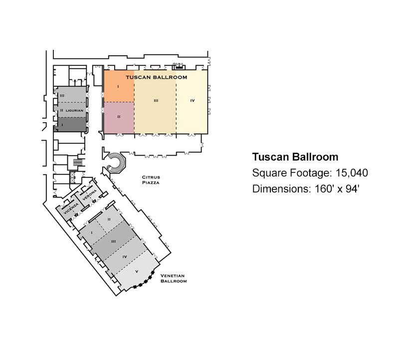 The Venetian Banquet Hall Floor Plan Gurus Floor
